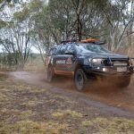 The Ranger tackling some mud