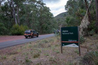 Alpine Park Enterance
