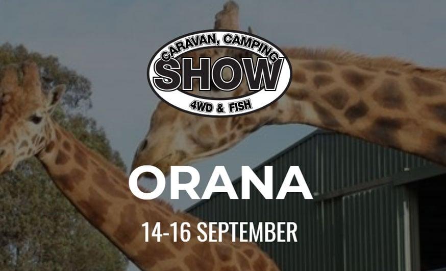 Orana Caravan, Camping, 4wd & Fish Show