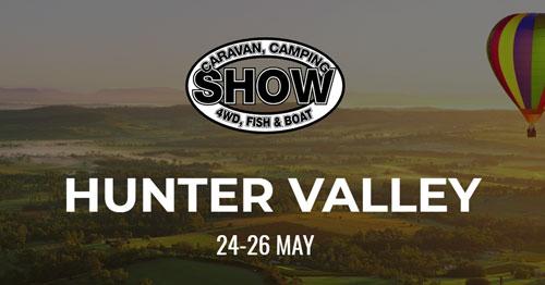 Hunter Valley  Caravan, Camping, 4WD, Fish & Boat show 2019