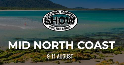 Mid North Coast Caqravan, Camping, 4WD, Fish & Boat Show