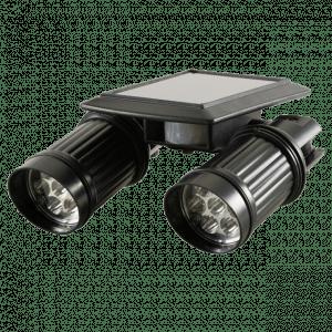 LED Motion Sensor Solar Light Dual Head 1