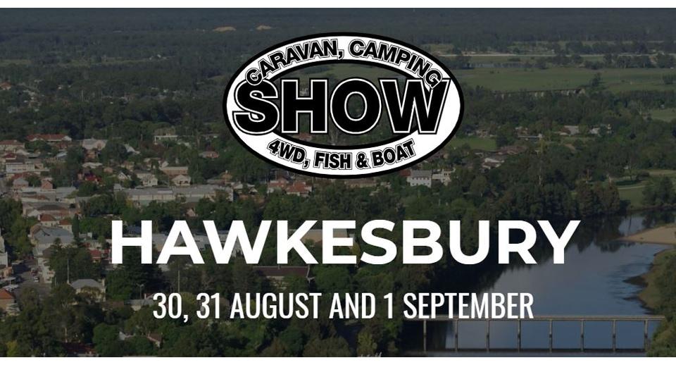 Hawksbury Caravan, camping, 4wd, Fish & Boat Show 2019