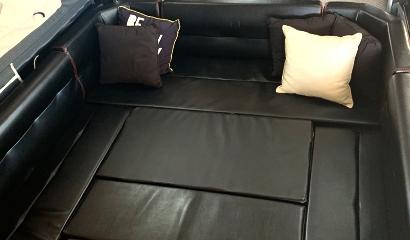 Comfortable space to sleep the rug rats