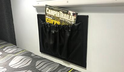 Individual bed storage