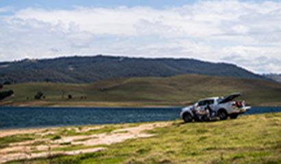 Lake St Clair Campground –  Singleton NSW