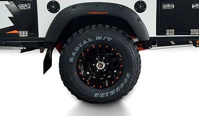 Mud Terrain Standard Tyres