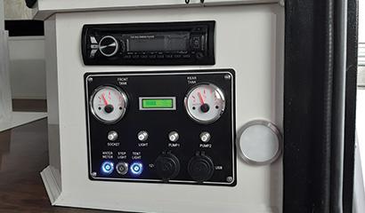 Interior Control panel