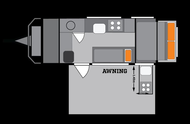 Mt Hotham Compact Floor Plan